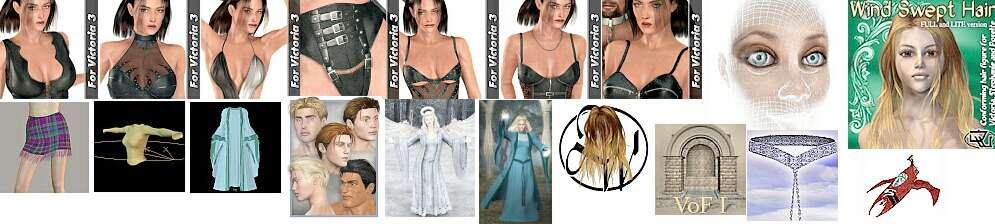 модели одежды для Виктории